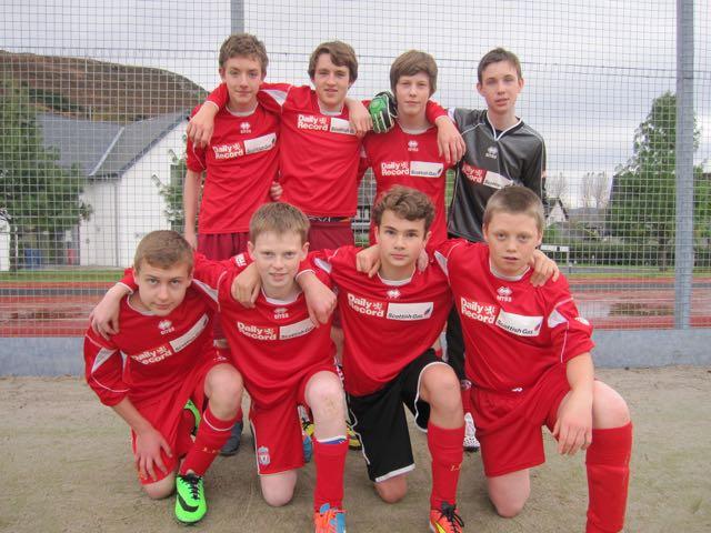 S2/3 Football Team