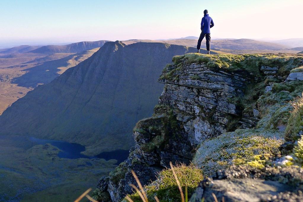 On the summit of Seana Bhraigh