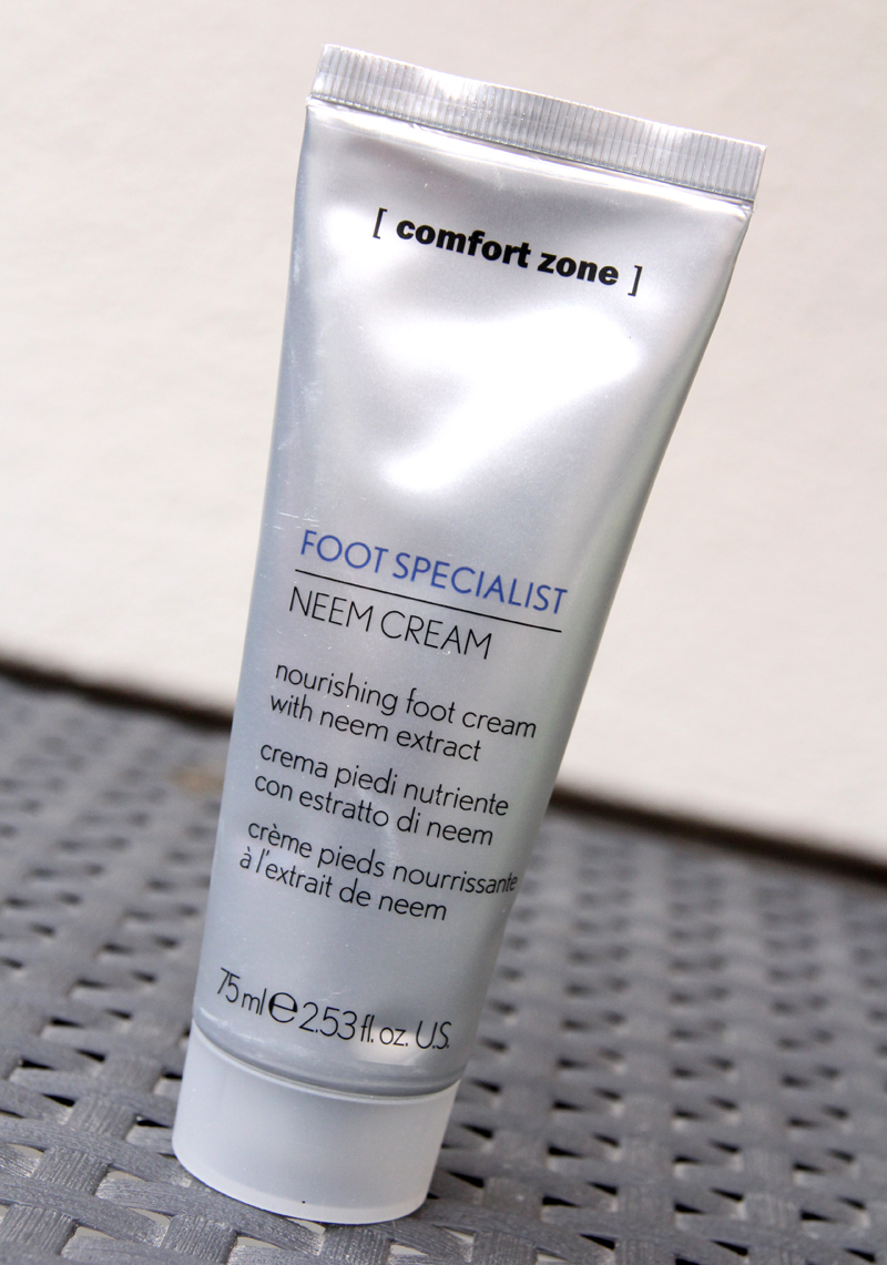 Comfort zone foot specialist neem cream