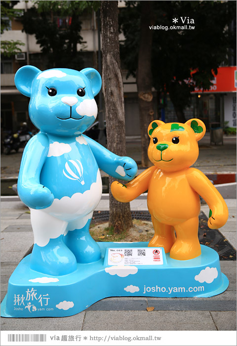 【台中泰迪熊草悟道】台中泰迪熊展2014地點(草悟道篇)~熊可愛‧親子熊超卡哇依!12