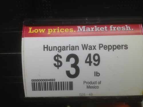 Hungarian papper - product of Mexico