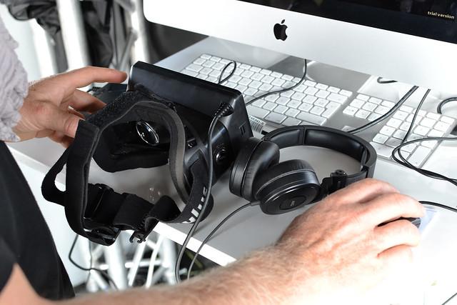 Oculus Rift chez BTwin