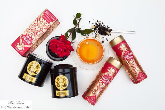 Mariage Frères - Christmas Pudding & Paris-Marais tea
