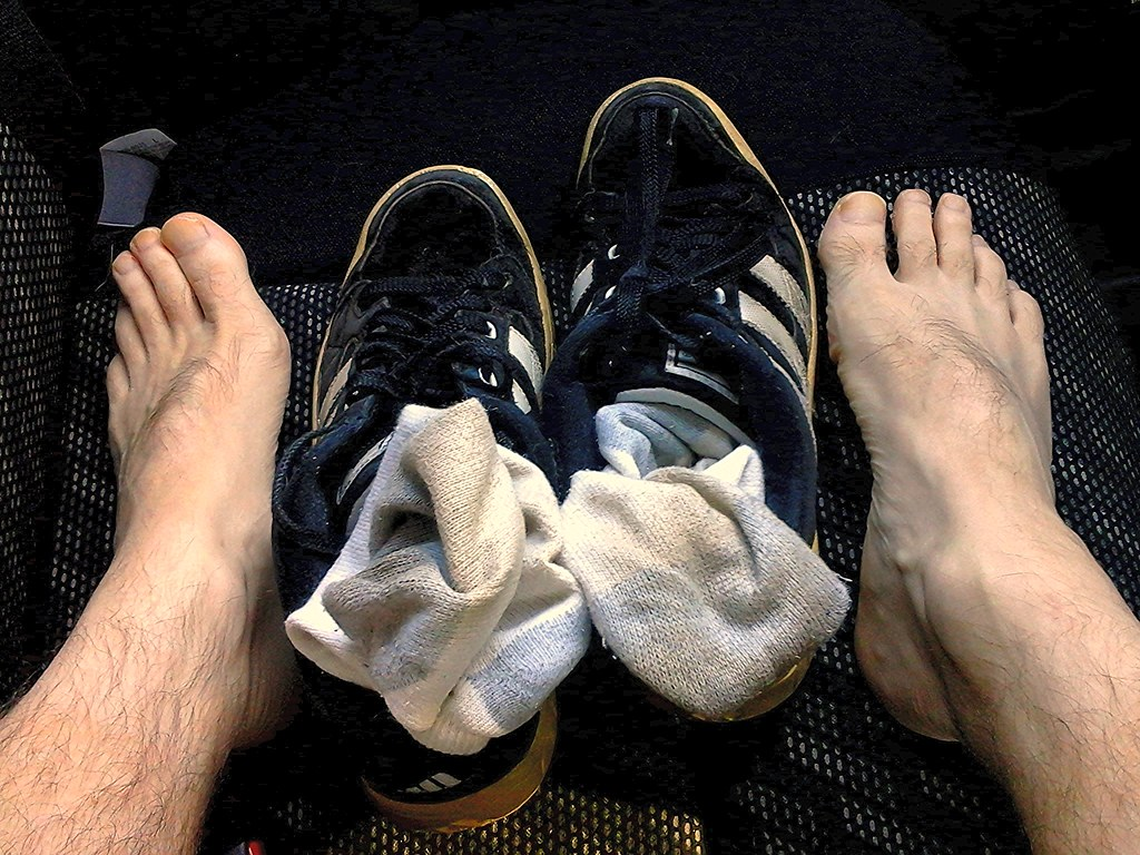 Fetish foot shoes smelly sock