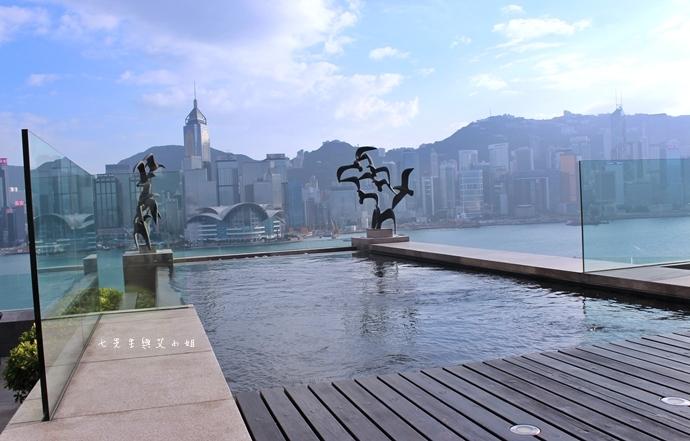 14 洲際酒店 InterContinental 閃躍維港 3D光雕匯演