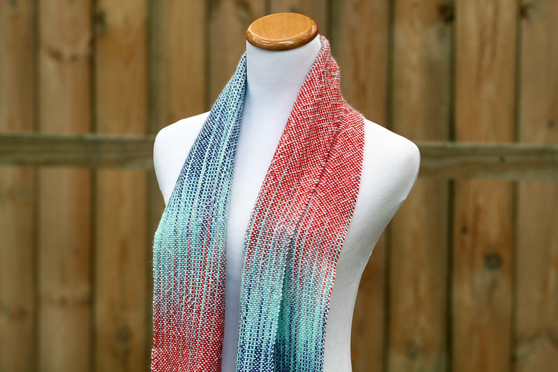 Fire and Ice Scarf