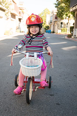 Ella loves her trike