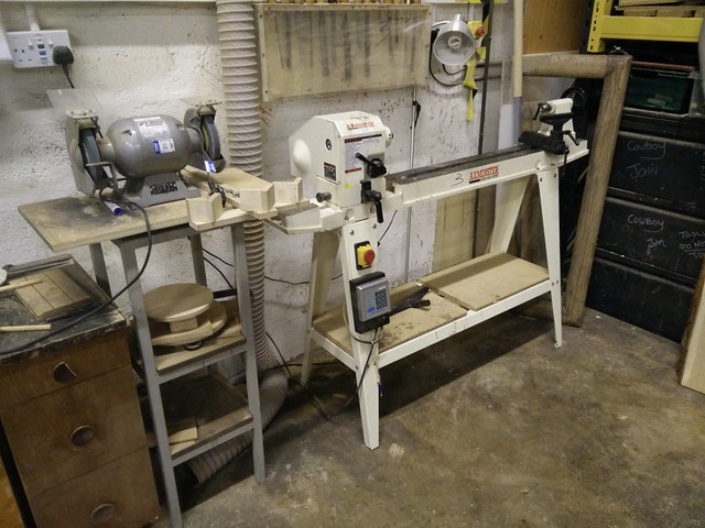 Grinder and Lathe