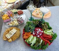 A Festive Pre-Dinner Spread