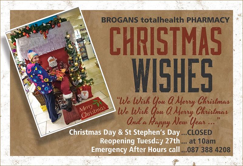 Brogans Christmas 2016