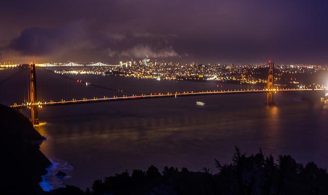 Golden Gate, Canon EOS REBEL T3I, Canon EF 28mm f/1.8 USM