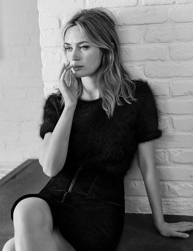 Эмили Блант — Фотосессия для «Vogue» UK 2016 – 5