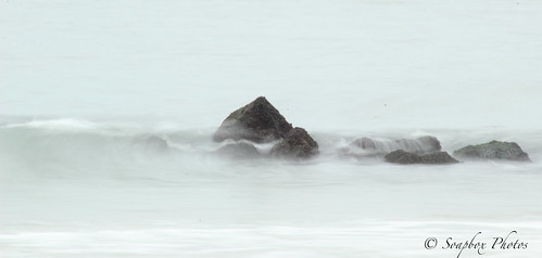 """Waves on Rocks"" ""Holgate, NJ"""