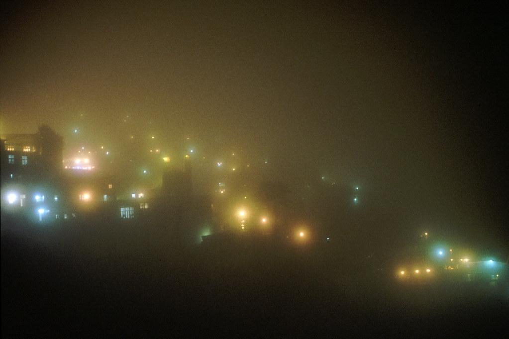 Road trip en Iran - Masouleh de nuit