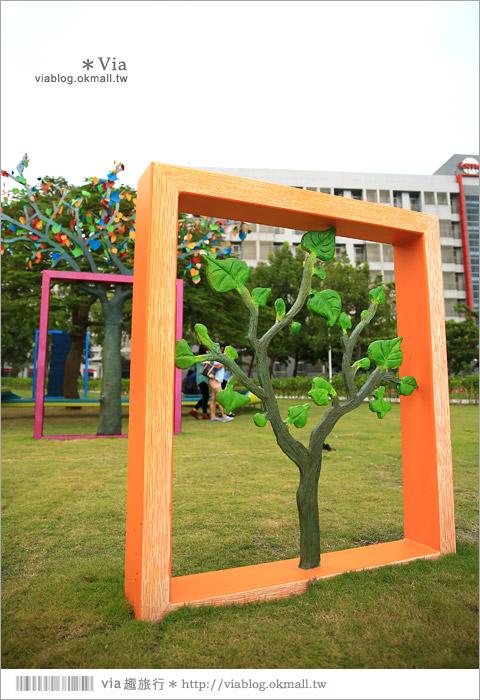 【南科幾米】台南|台積電南科幾米裝置藝術小公園~願望盛開‧許諾之地9