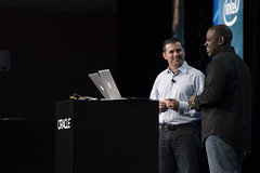 Michael Greene and Georges Saab, Intel Keynote, JavaOne 2014 San Francisco