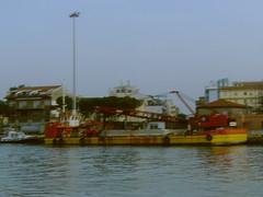 In Pescara Harbor