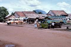 Bến xe Tây Ninh 1965-66 - Photo by John A. Hansen