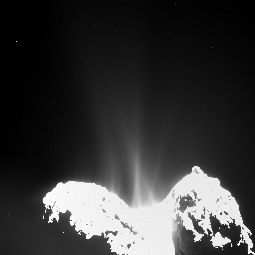 Comet 67P activity – 10 September 2014 - OSIRIS