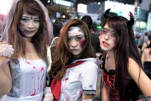 Shibuya Halloween Costume Street Snaps