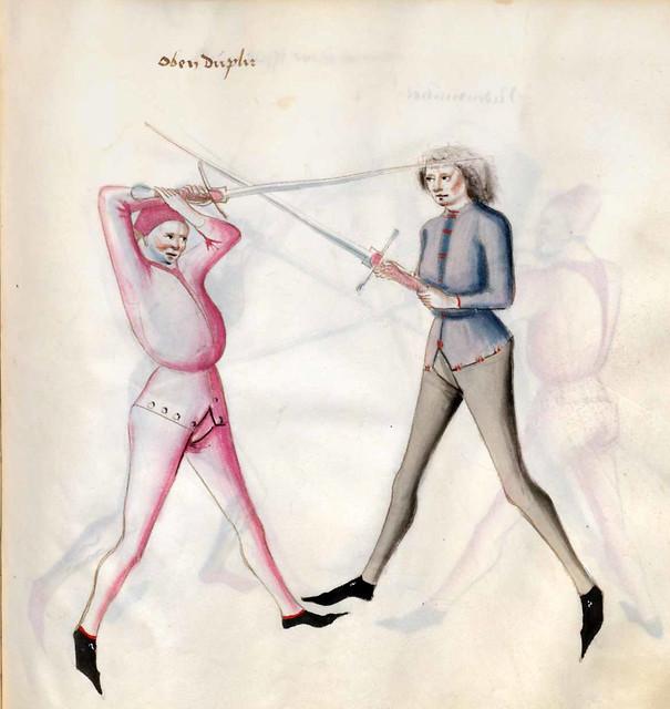 011-Kal Paulus Fechtbuch gewidmet dem Pfalzgrafen Ludwig- BSB Cgm 1507- Bayerische StaatsBibliotehek