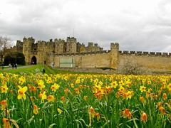 Alnwick Castle, Northumberland, UK, KW
