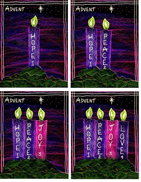 church bulletins advent covers stushie art. Black Bedroom Furniture Sets. Home Design Ideas