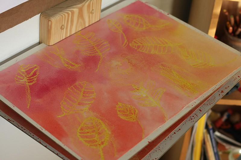 lantern paper drying