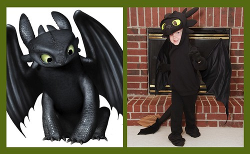 Brian as Toothless