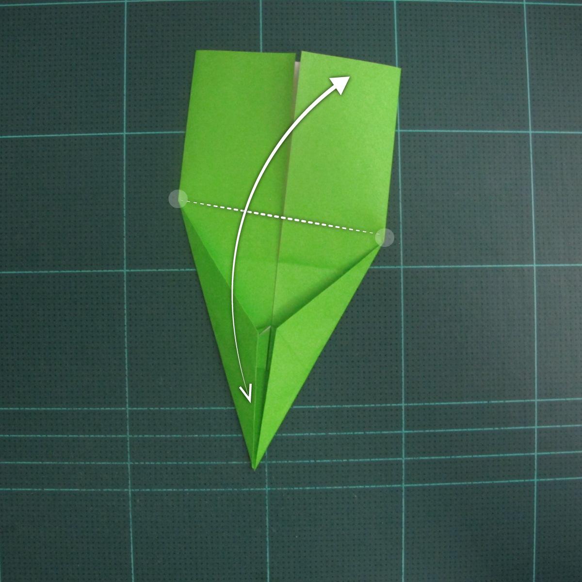 การพับกระดาษเป็นรูปแรด (Origami Rhino) 012