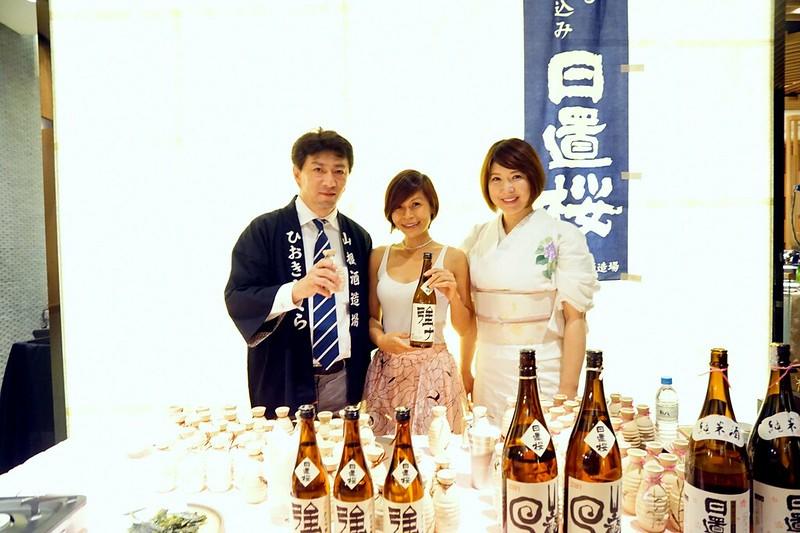 Kampachi Japanese restaurant - KANPAI! With Sake Masters -012