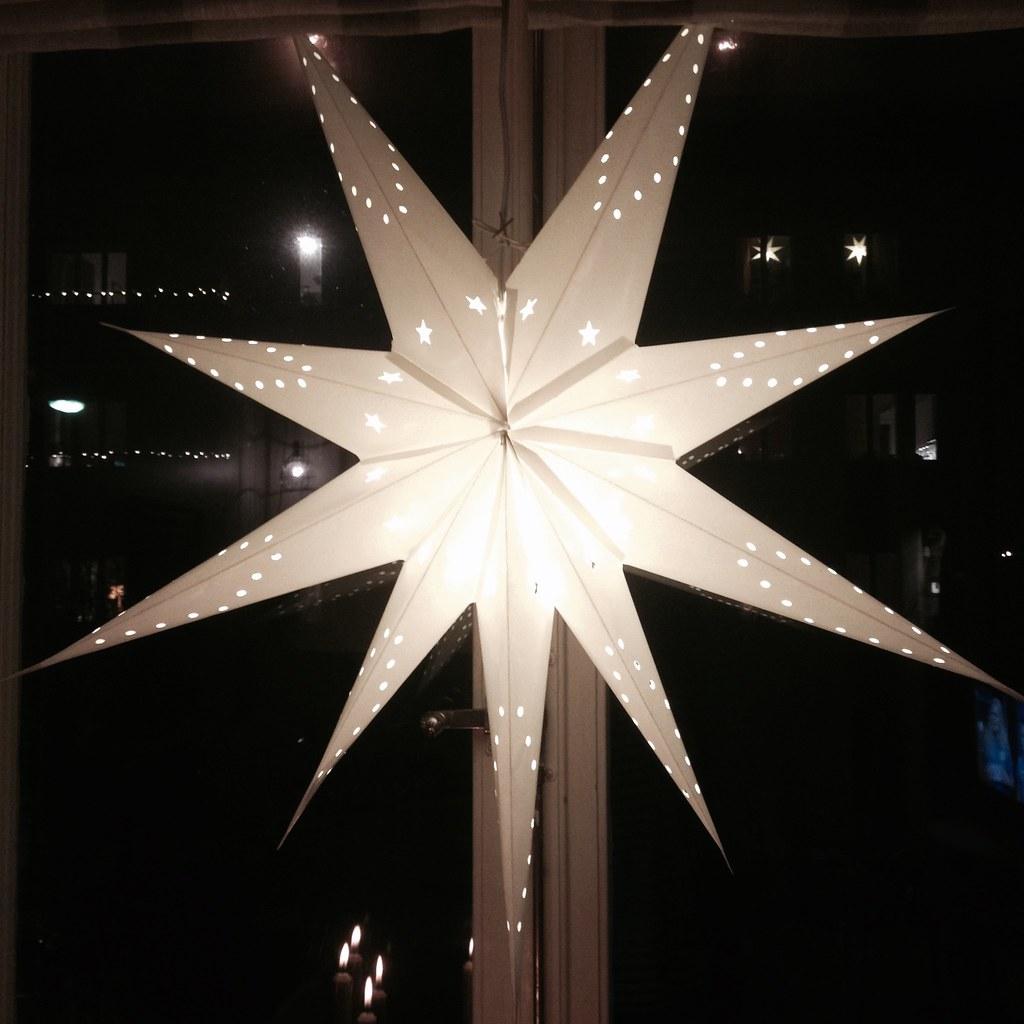 tjuvstart på julen Adventsstjärnor