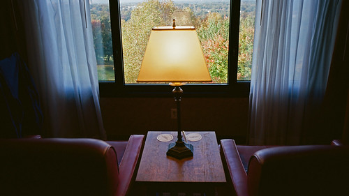 groveparkinn asheville northcarolina film colornegative kodakportra400 contaxg2 shadows 2014 zeiss28mmf28biogon lowlight
