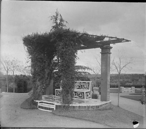 Palacio de la Sisla en abril de 1928. Fotografía de Aurelio de Colmenares y Orgaz, Conde de Polentinos Ⓒ Fototeca del IPCE, Ministerio de Educación, Cultura y Deporte. Signatura DCP-A-4064_P