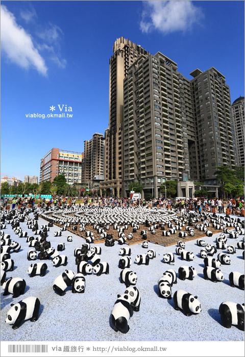 【台中】大都會歌劇院~可愛紙熊貓大軍來襲!台中七期的新亮點!9