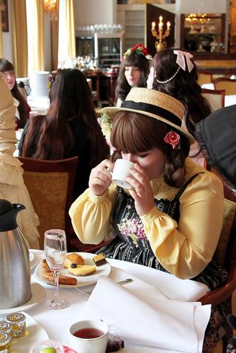 Naomi and her Tea