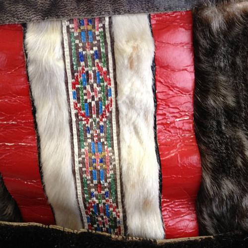Greenland Nanortalik leather shorts