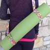 The last YogaMod strap in this color/pattern we have left in the shop #yoga #sewmoddesigns