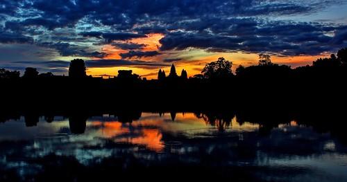 sunrise cambodia angkorwat