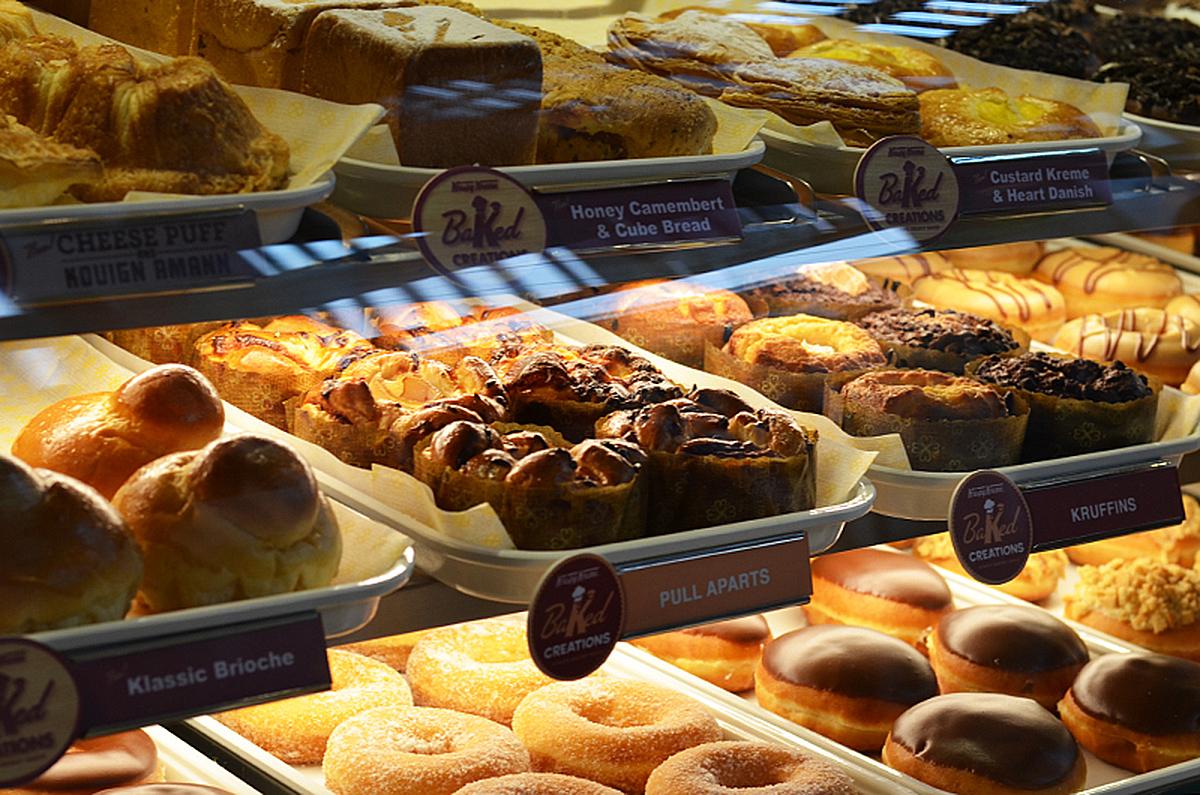 Trice Nagusara Krispy Kreme