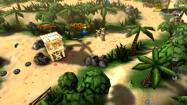Tiny Troopers Joint Ops on PS3 and PS Vita