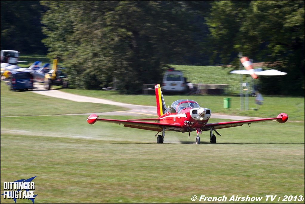 Patrouille Belge Red Devils, Dittinger Flugtage 2013