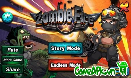 Zombie Fire v1.3 hack full tiền & kim cương cho Android