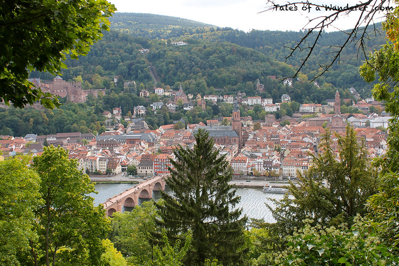 HEIDELBERG - Philosophenweg - Heidelberger Schloss / Alte Brücke / Heiliggeistkirche / Jesuitenkirche