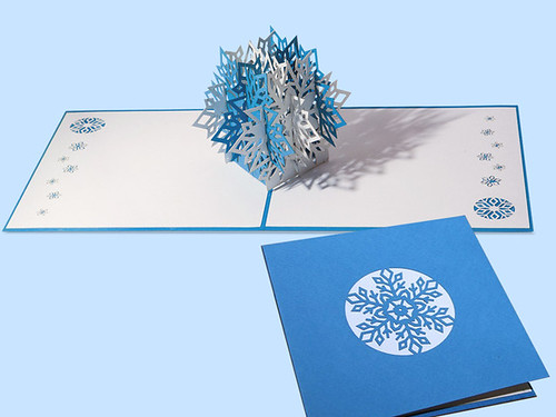 Pop-Up Snowflake Card - LovePop