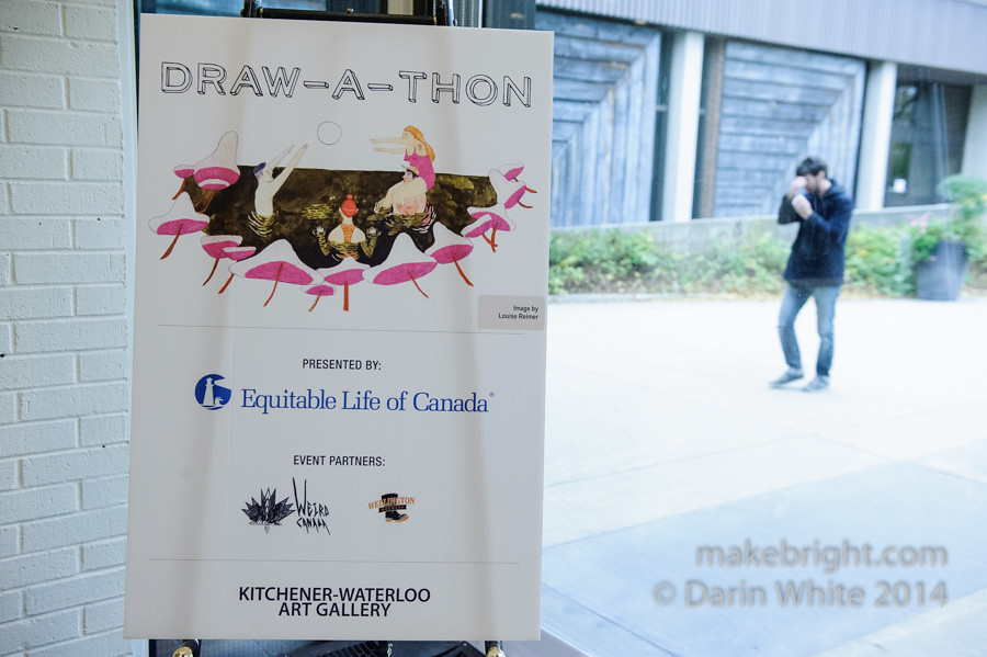 WeirdCanada Drawathon at KWAG 046-