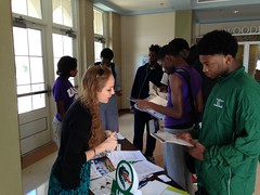 Had a wonderful first Student and Family College and Career Day at Woodlawn High School on Saturday, October 18! Thank you to all of our partners that had a table!