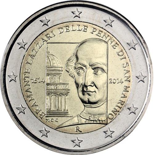2 Euro San Marino 2014, Donato Bramante