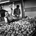 Onion seller @ street market by SungsooLee.com