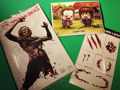 October 2014 Loot Crate Walking Dead